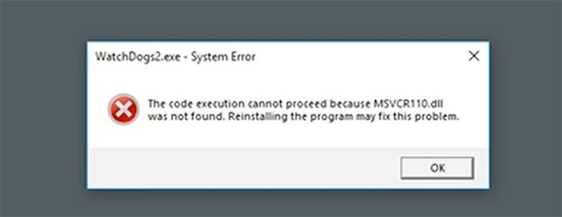 How to Fix MSVCR110.dll was not found Error on Windows 10/8.1/7