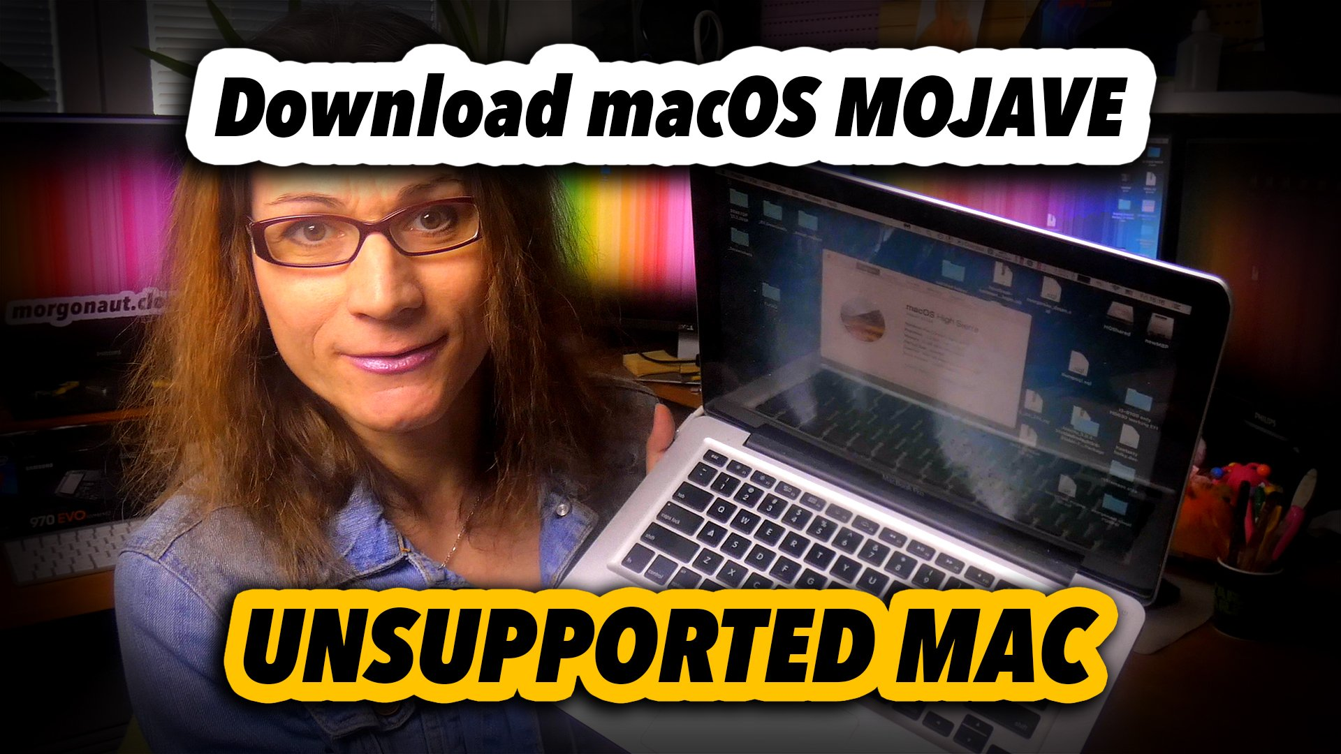 How To Download macOS Mojave Installer on Unsupported Mac - MORGONAUT