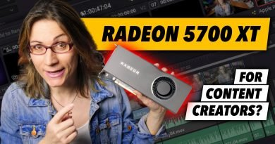 Is AMD Radeon RX 5700 XT Good For Content Creators? And For Hackintosh?